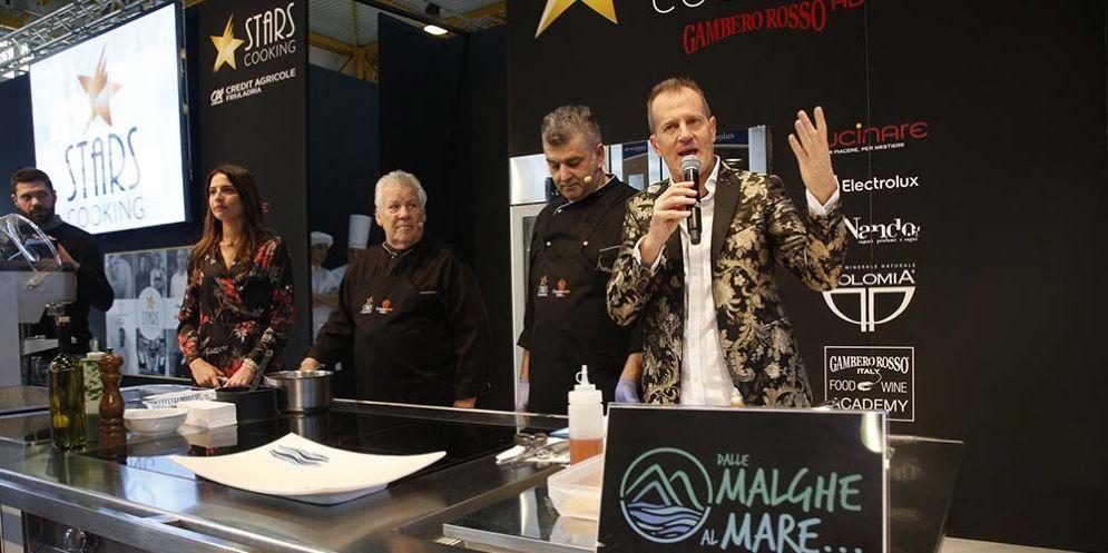 """Grande successo per """"Cucinare"""", Salone dell'Enogastronomia e delle Tecnologie per la cucina"""