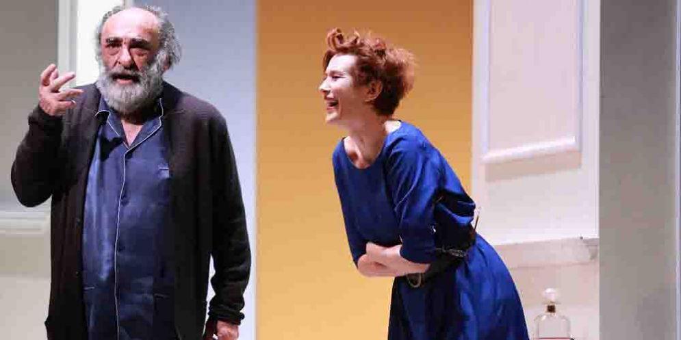 """Al comunale di Cormons in scena """"Il padre"""" con Alessandro Haber e Lucrezia Lante Della Rovere"""