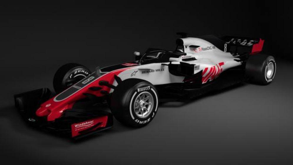 La nuova monoposto della Haas per il Mondiale 2018 di F1, la Vf-18