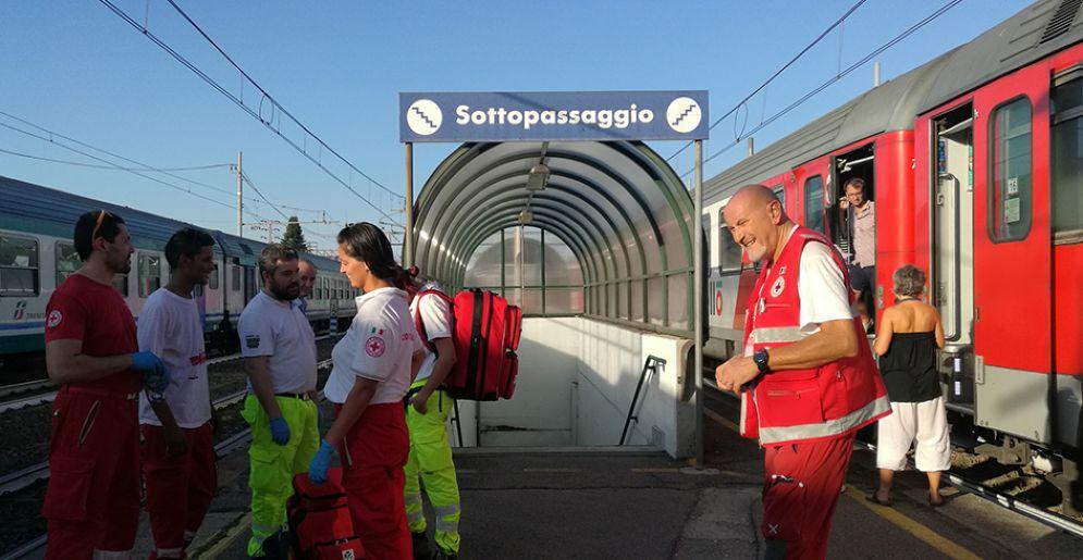 Intervento della Croce Rossa