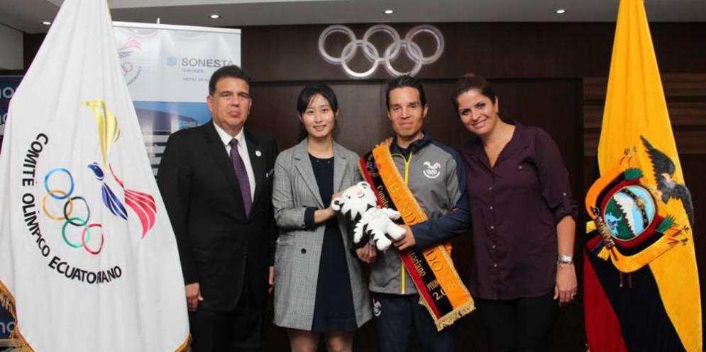 Klaus Jungbluth Rodriguez alle Olimpiadi Invernali 2018 di PyeongChang