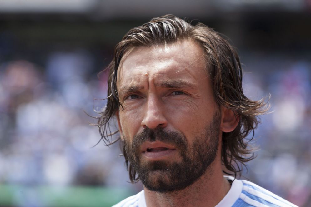 Andrea Pirlo, in serie A ha giocato con le maglie di Brescia, Inter, Milan e Juventus