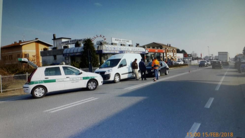 L'intervento della polizia locale