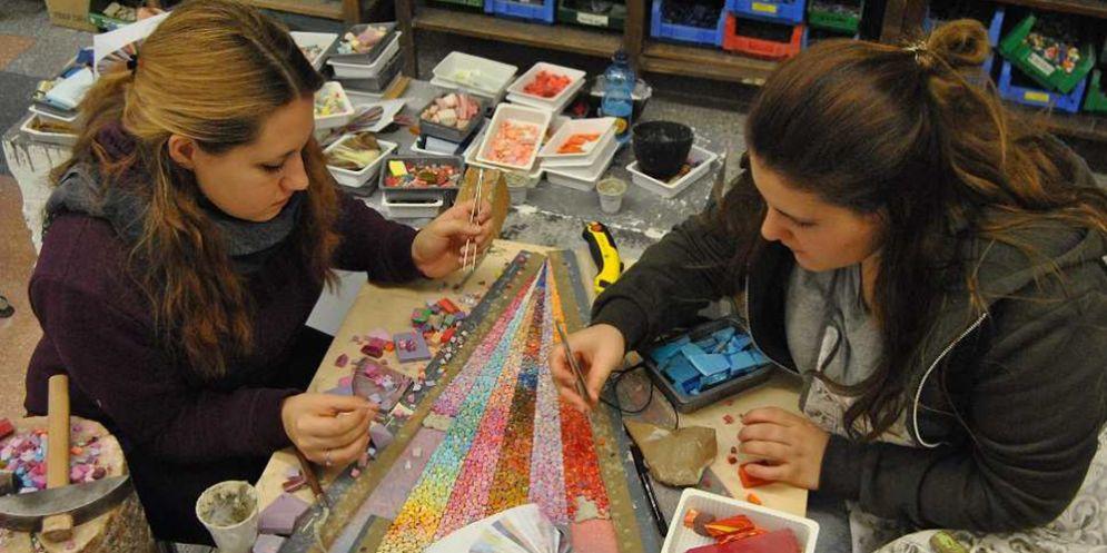 Spilimbergo, aperte le iscrizioni ai corsi di mosaico