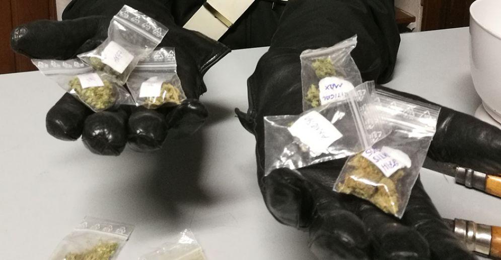 Marijuana sequestrata