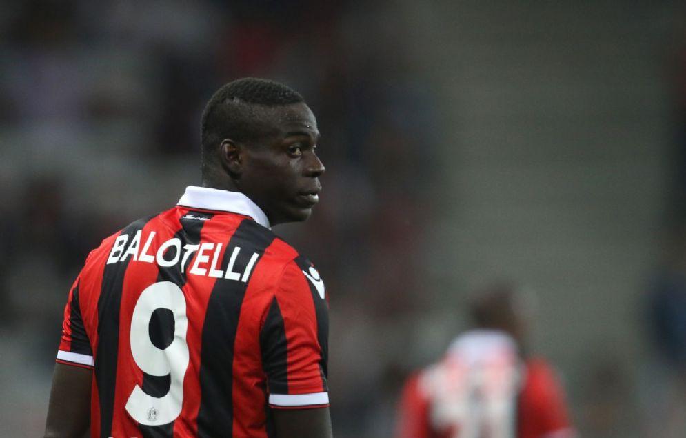 Mario Balotelli, attaccante del Nizza fino al prossimo 30 giugno