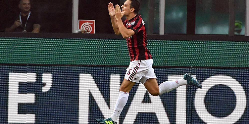 Giacomo Bonaventura, centrocampista del Milan
