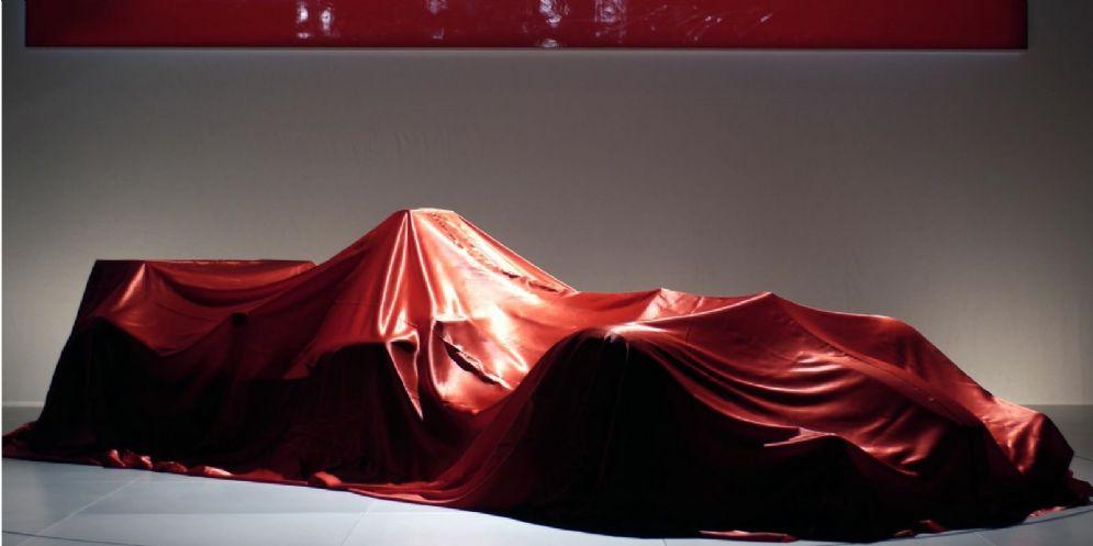 La Ferrari di Formula 1 sotto i veli