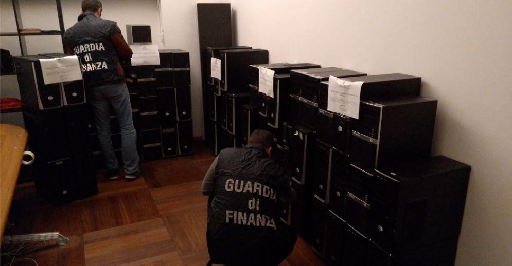La Guardia di Finanza di Torino in azione