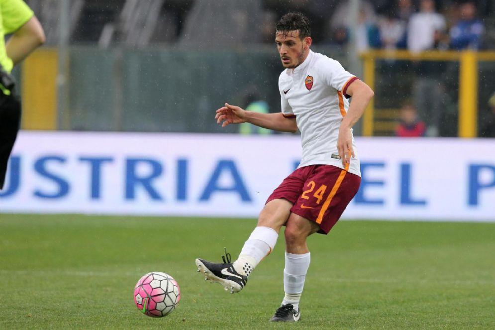Alessandro Florenzi, centrocampista della Roma e della Nazionale