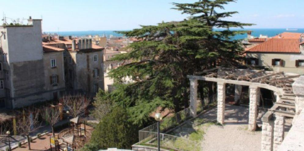 Giardini pubblici ancora chiusi causa perdurare del maltempo (© Diario di Trieste)