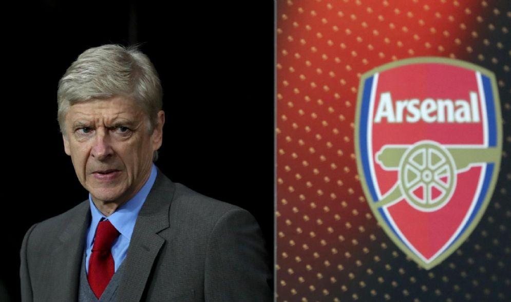 Il manager dell'Arsenal Arsene Wenger