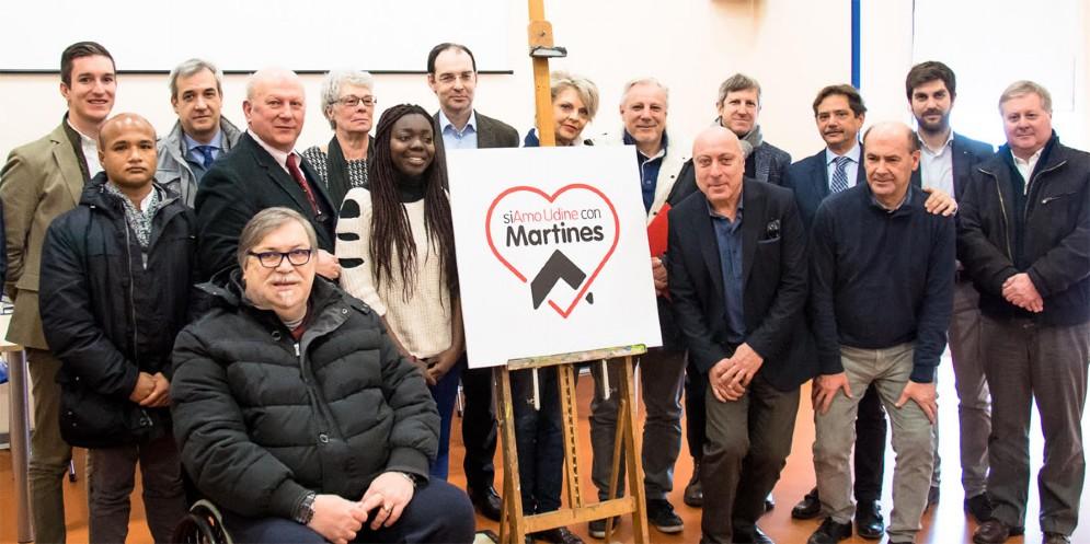 Presentata la Lista Civica 'siAmo Udine con Martines'