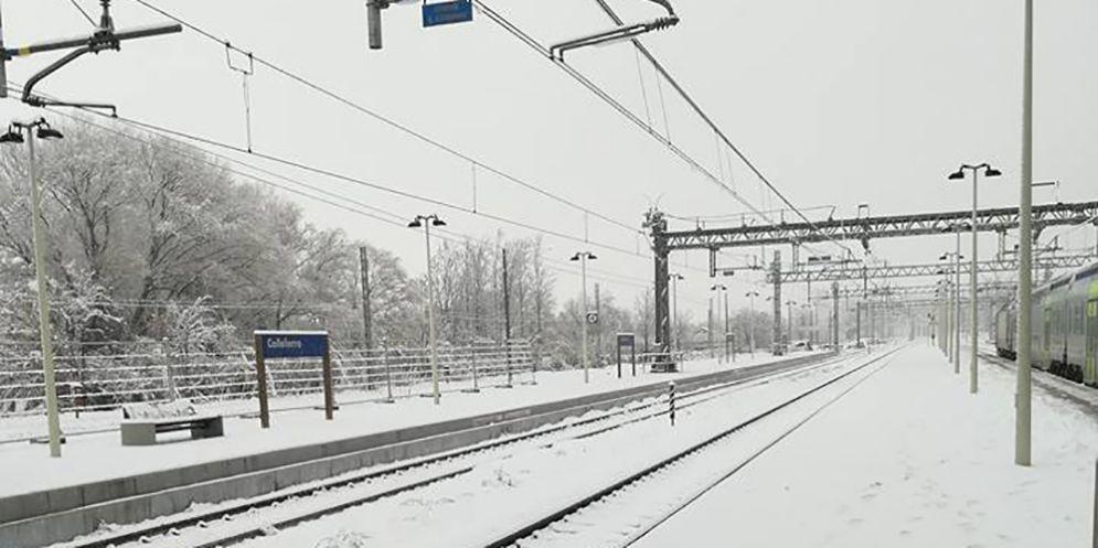 Il gelo di Buran non ferma i treni del Fvg, fatto salvo la Sacile-Maniago ancora ko