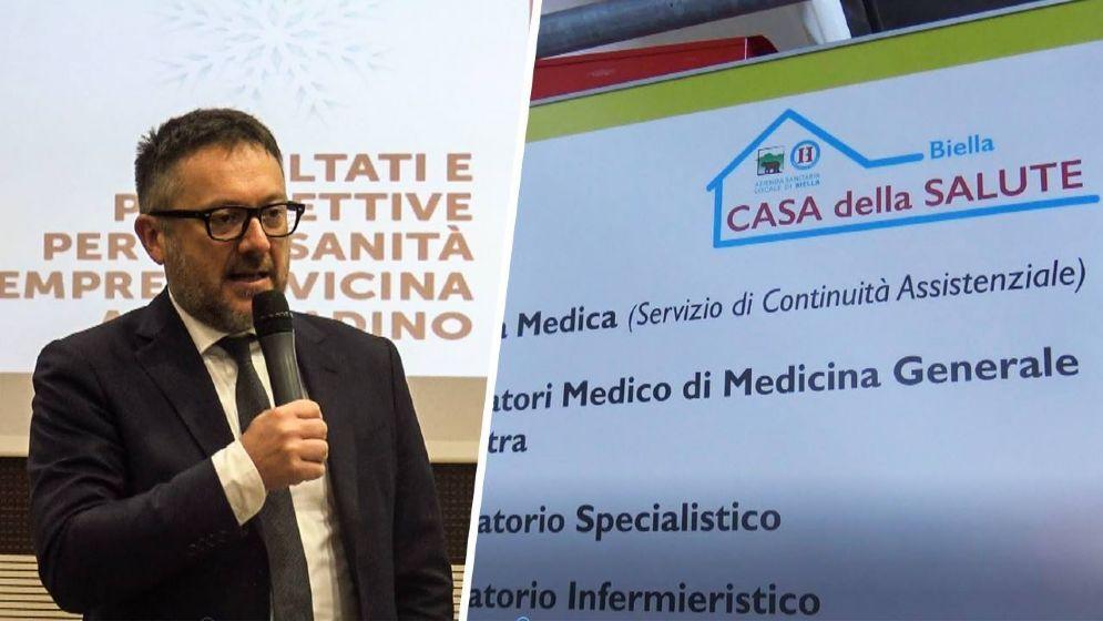 Gianni Bonelli, direttore generale dell'Azienda sanitaria locale di Biella