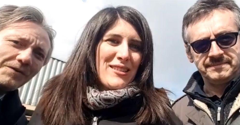 Alberto Sacco, Chiara Appendino e Alberto Unia