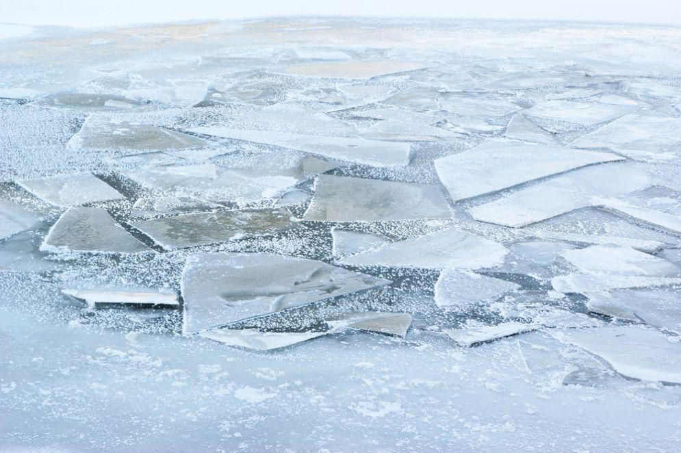 Mare ghiacciato