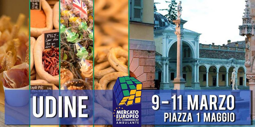 'Udineuropa': piazza I Maggio si trasforma per 3 giorni nel Vecchio Continente, in miniatura