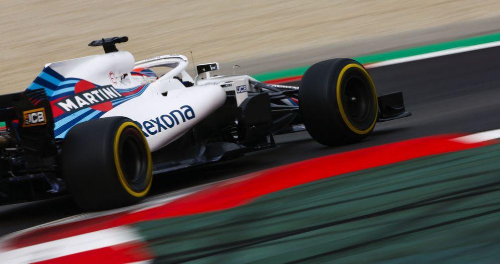 Robert Kubica al volante della Williams nei test di Barcellona