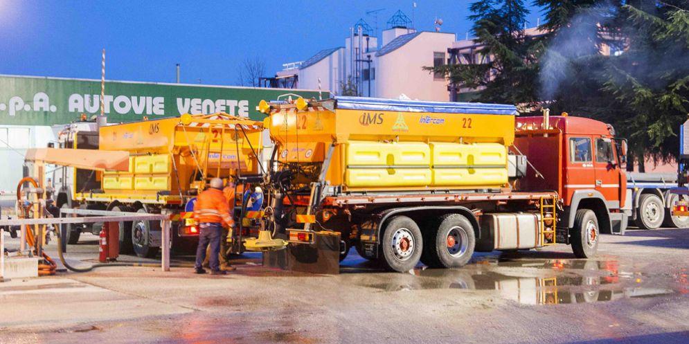 Neve in arrivo: Autovie Venete è pronta