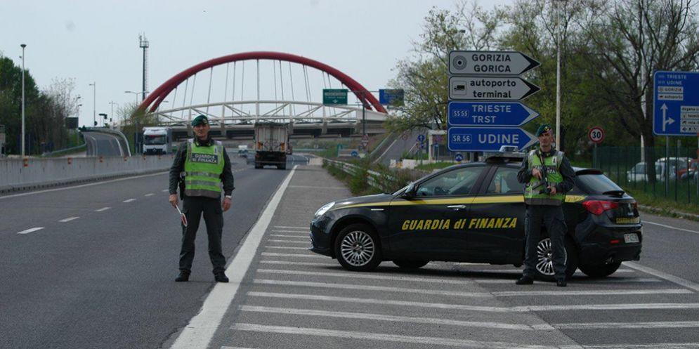 Gorizia, la Guardia di Finanza arresta un latitante condannato per furto e resistenza
