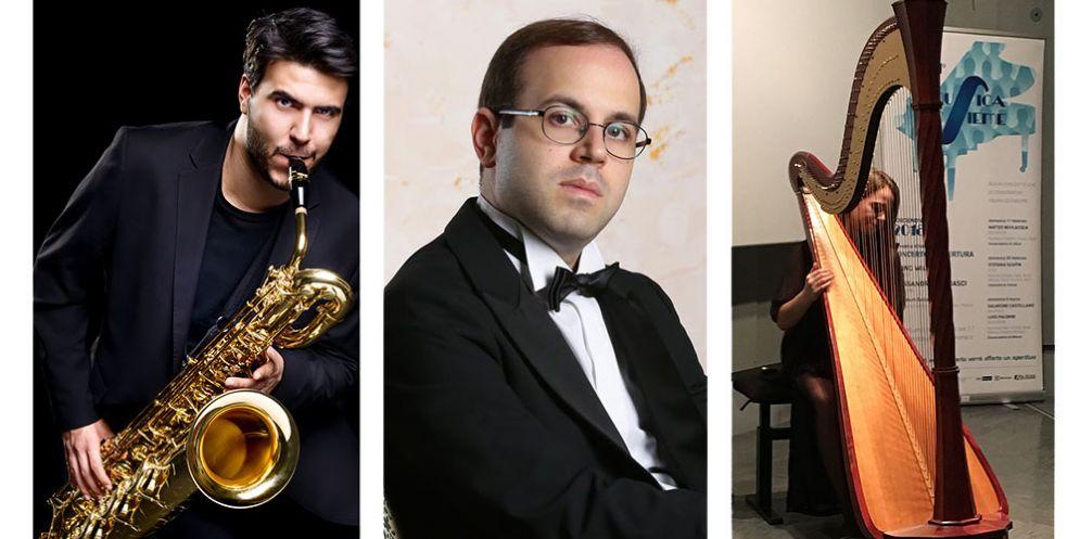 Musicainsieme: ultimo concerto aperitivo con il saxofonista Salvatore Castellano e Luigi Palombi al pianoforte