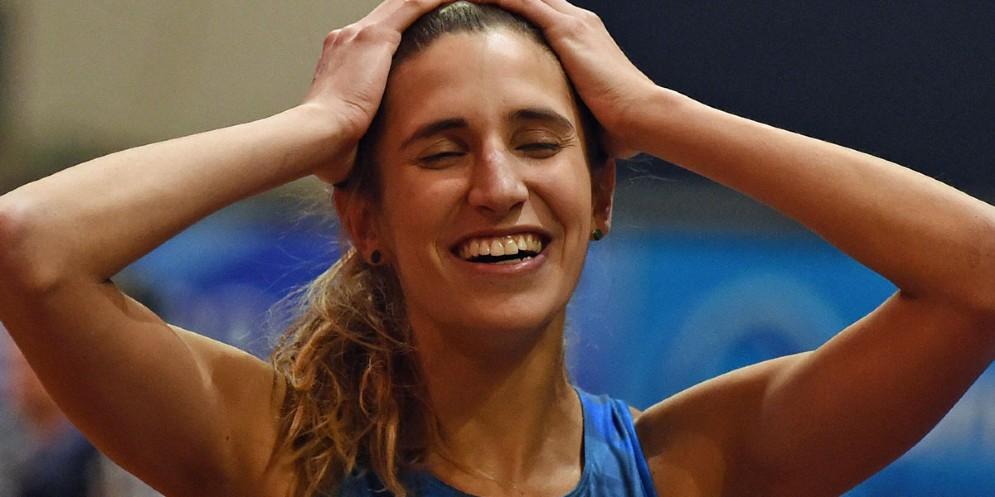 La friulana Alessia Trost conquista il bronzo nel salto in alto