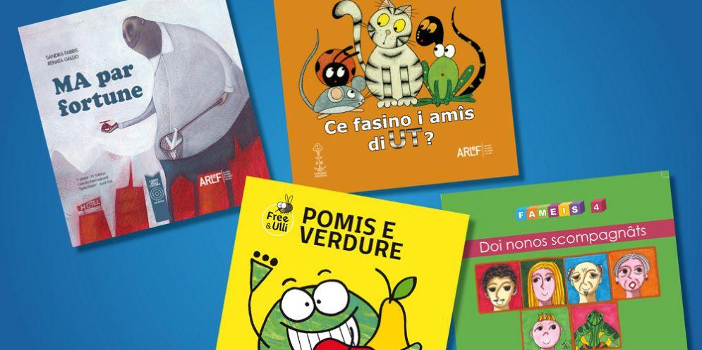 In libreria dieci nuovi libri per bambini in lingua friulana