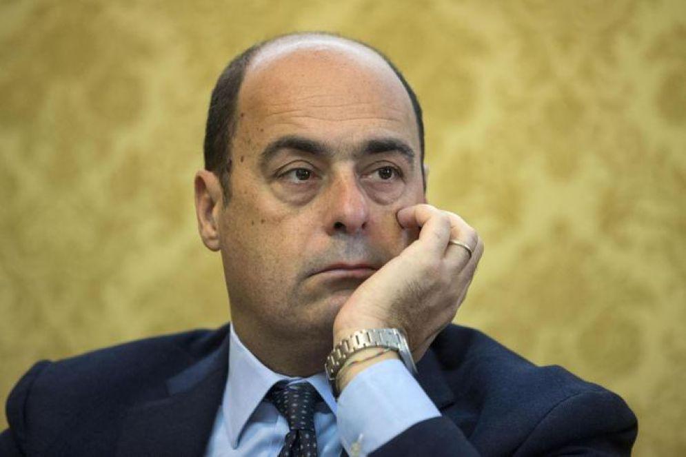 Il governatore del Lazio, Nicola Zingaretti