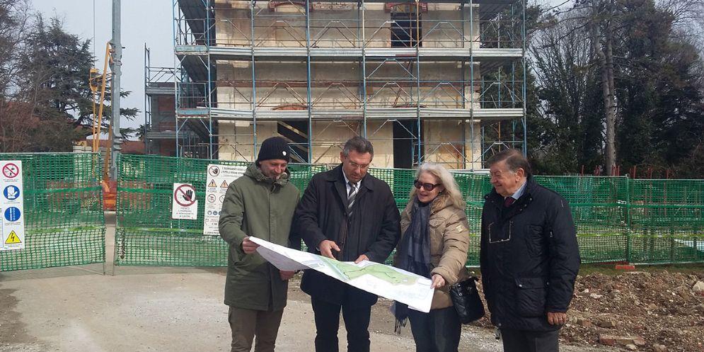 Parco storico dell'ex Cotonificio, in fase avanzata la ristrutturazione del vecchio asilo