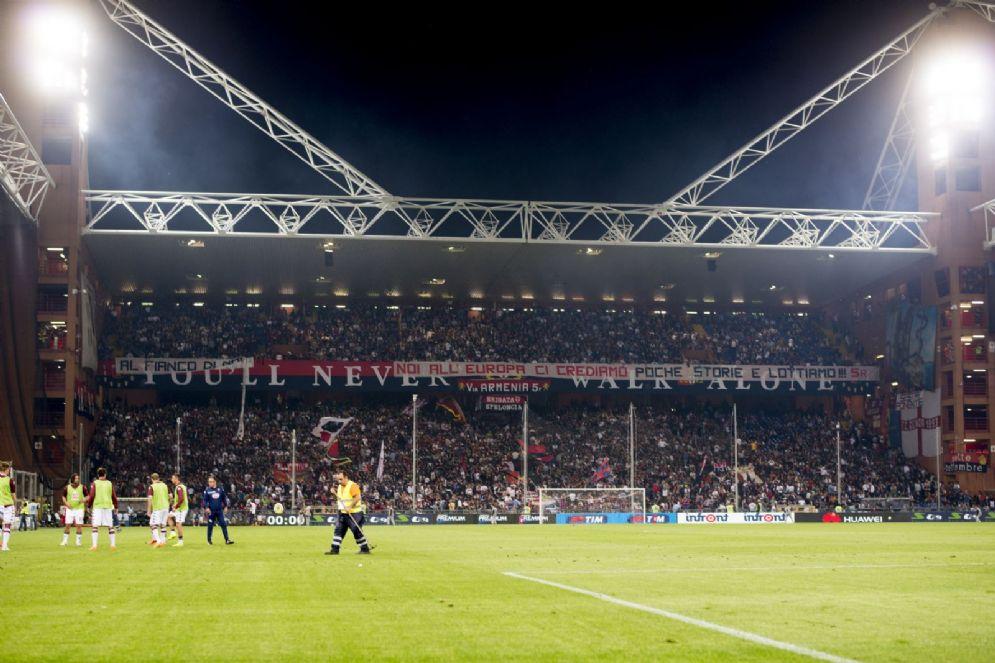 Lo stadio Luigi Ferraris di Genova