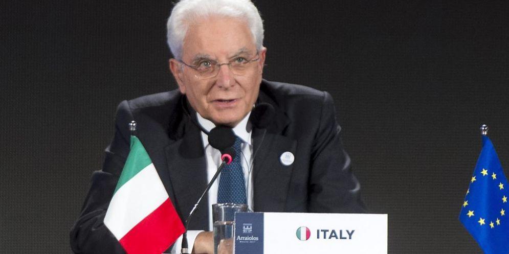 Il presidente della Repubblica Sergio Mattarella.