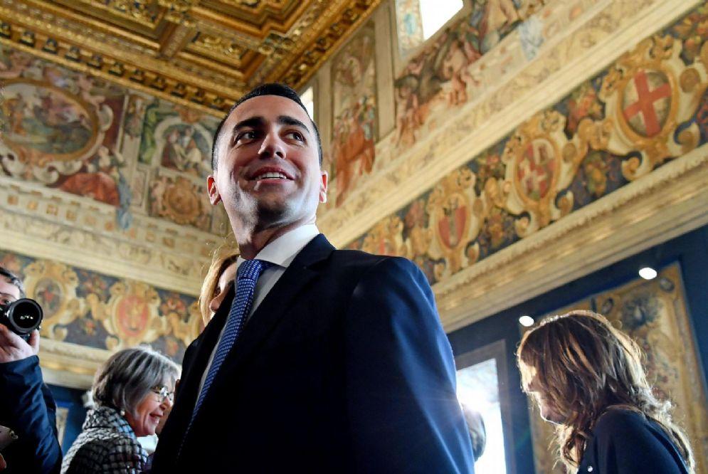 Il candidato premier del M5s Luigi Di Maio