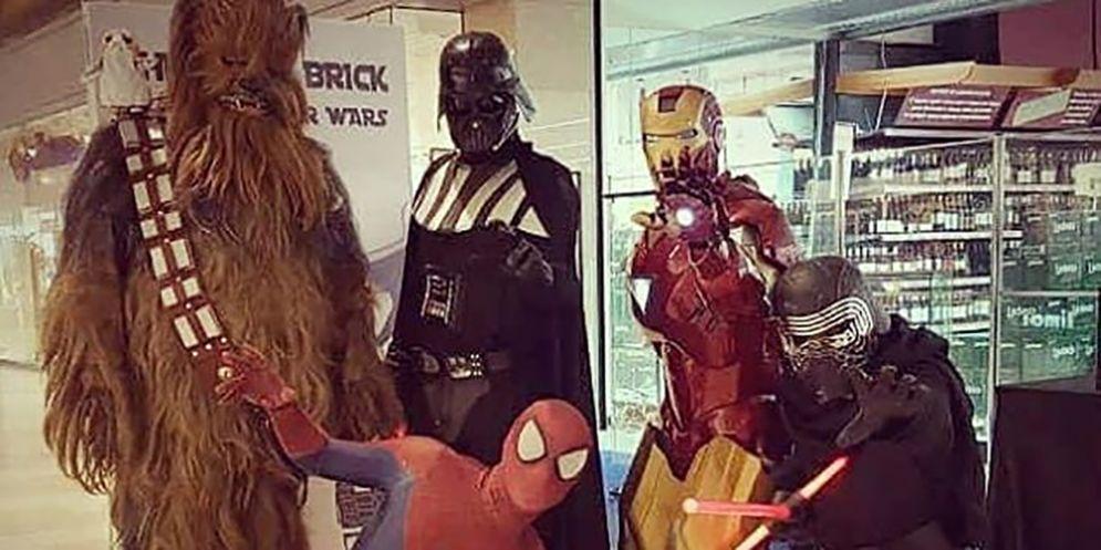 Super Heroes, cosplay e mostre di Lego impazzano a Monfalcone