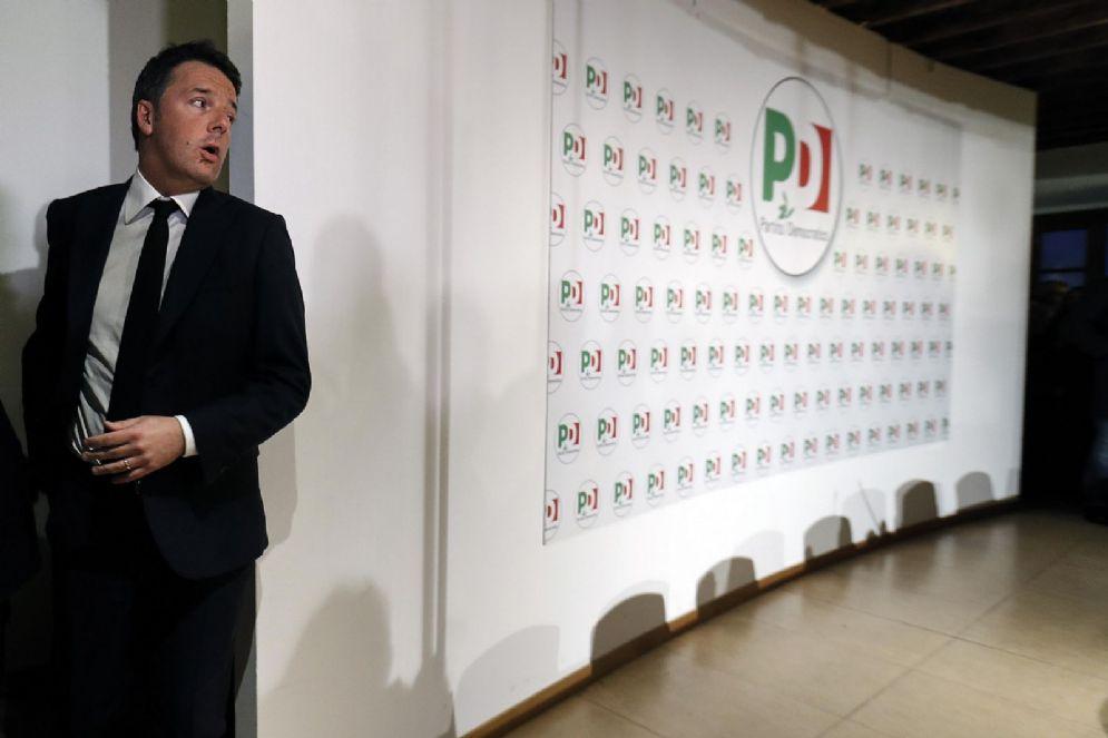 Il segretario uscente del Pd Matteo Renzi
