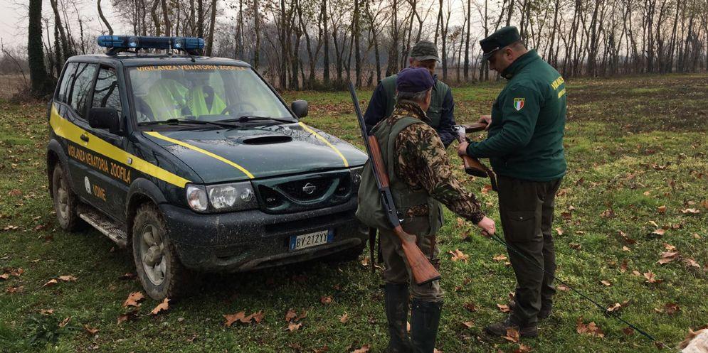 Controllo di Vigilanza Venatoria Zoofila di Udine