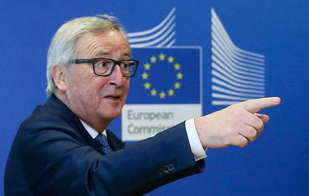 Il presidente della Commissione Ue Jean Claude Juncker.