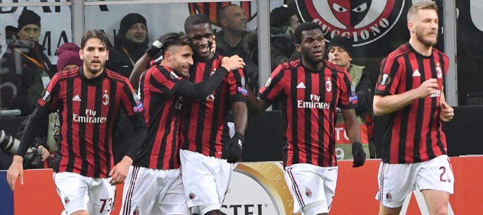 Il Milan si prepara al tentativo di rimonta contro l'Arsenal