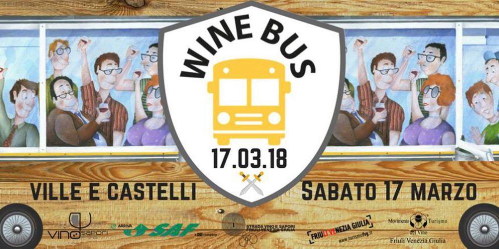 Capriva del Friuli, alla scoperta di ville, castelli e dimore del vino con il ''Wine Bus'