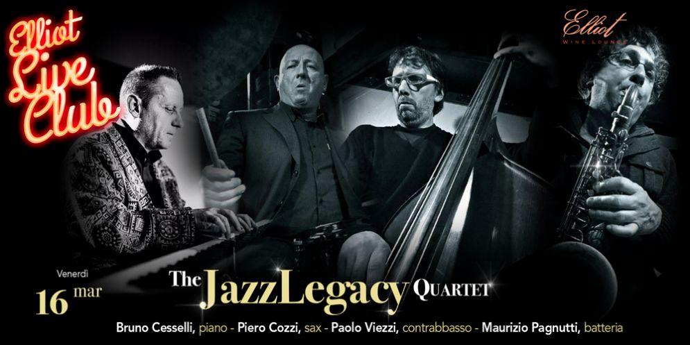 I 'JazzLegacy 4tet' protagonisti da Elliot