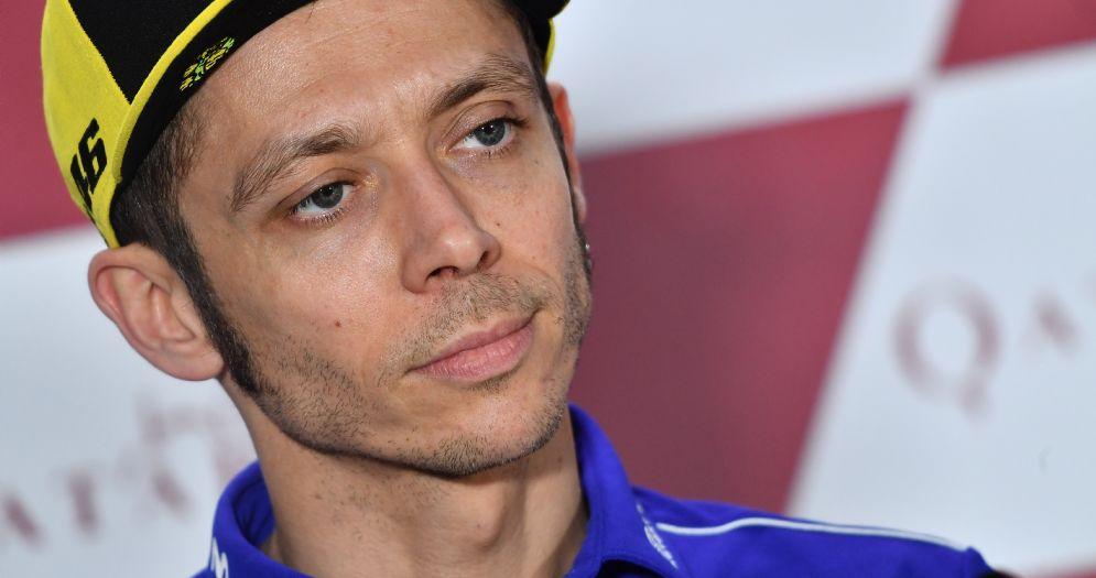 Valentino Rossi nella conferenza stampa del giovedì in Qatar