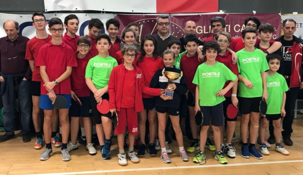 Una giornata indimenticabile per tanti giovani sportivi