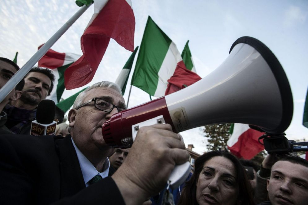 Mario Borghezio, europarlamentare della Lega Nord