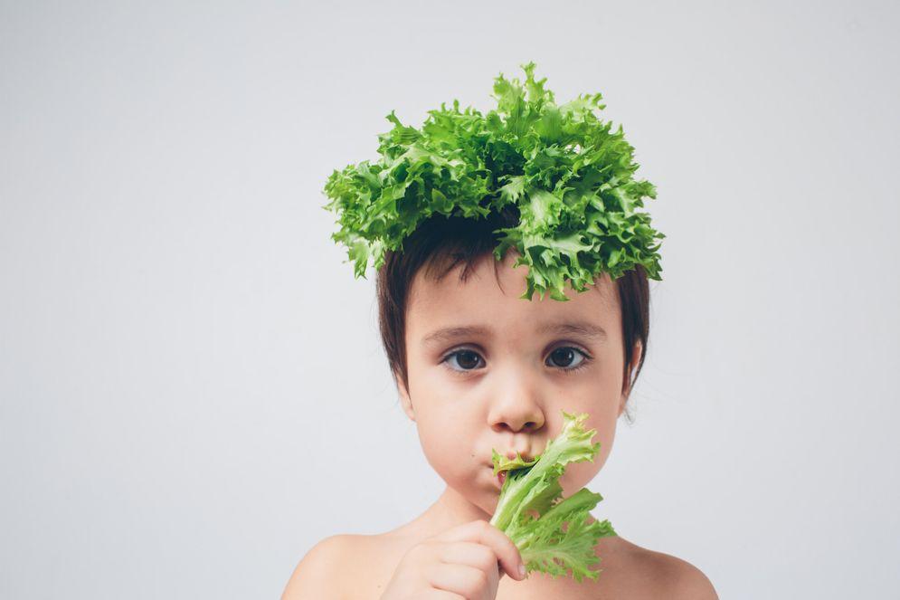 Dieta veggie nei bambini