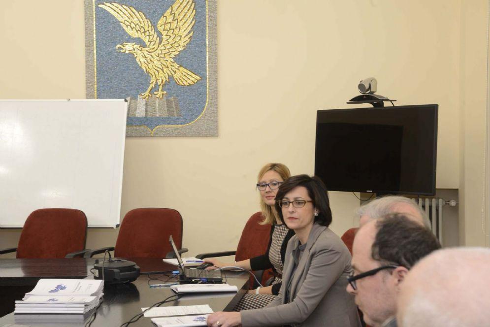 Assessore regionale all' Ambiente ed Energia, Sara Vito