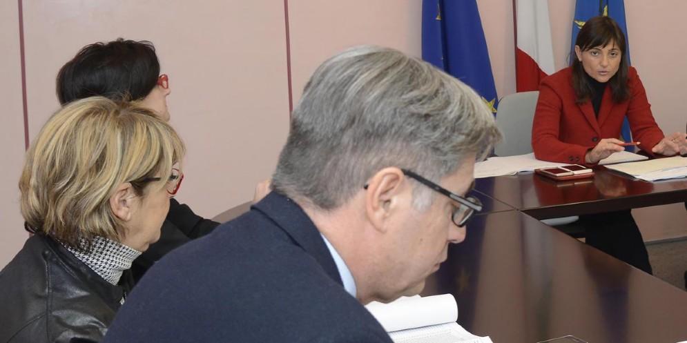 Assessore alle Finanze, Francesco Peroni e Presidente della Regione, Debora Serracchiani