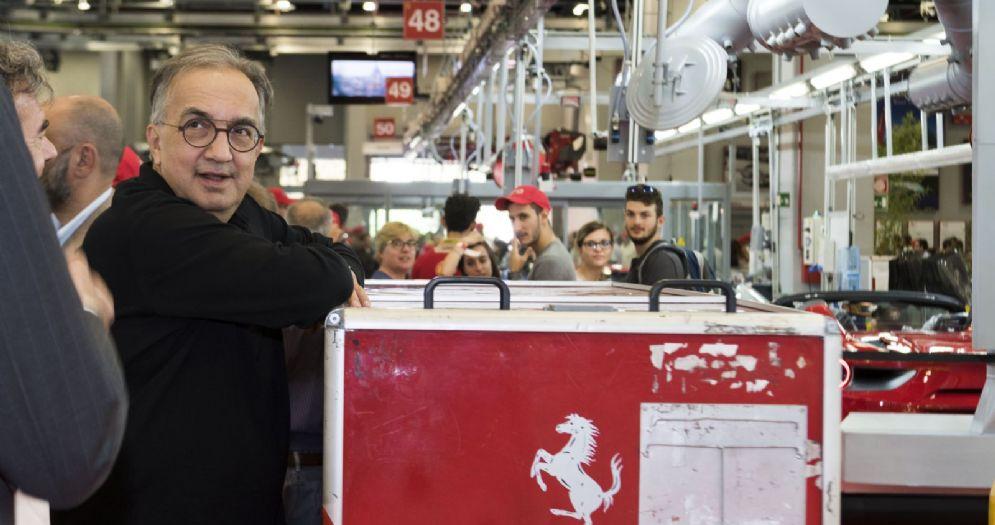 Il presidente della Ferrari Sergio Marchionne