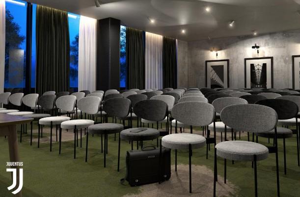 Il nuovo J-Hotel, il primo albergo di una squadra di calcio in Italia