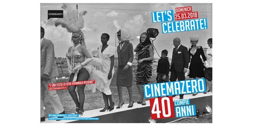 Pordenone, 40 anni di Cinemazero: si festeggia con una giornata di anteprime, grandi classici, una tavola rotonda e musica