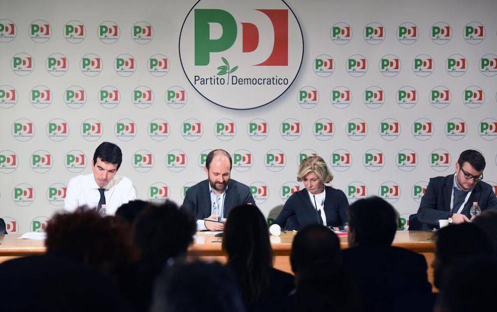 Maurizio Martina e Matteo Orfini